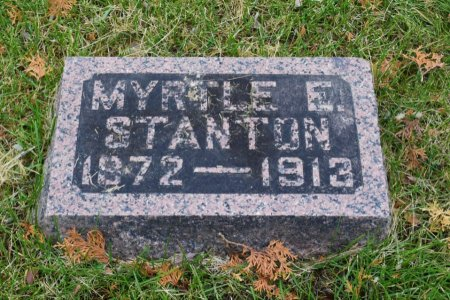 STANTON, MYRTLE E. - Linn County, Iowa | MYRTLE E. STANTON