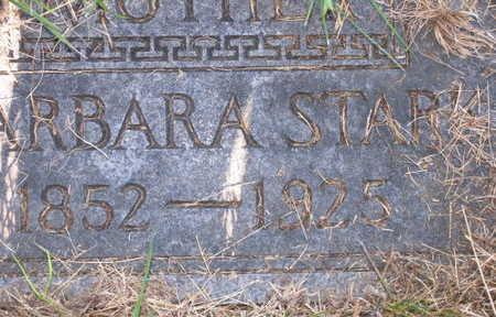 STARK, BARBARA - Linn County, Iowa | BARBARA STARK