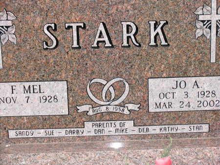 STARK, JO A. - Linn County, Iowa | JO A. STARK