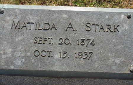 STARK, MATILDA A. - Linn County, Iowa | MATILDA A. STARK