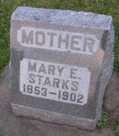STARKS, MARY E. - Linn County, Iowa | MARY E. STARKS