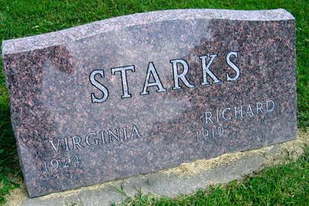 STARKS, VIRGINIA - Linn County, Iowa | VIRGINIA STARKS