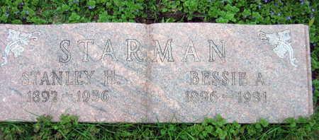 STARMAN, BESSIE A. - Linn County, Iowa | BESSIE A. STARMAN