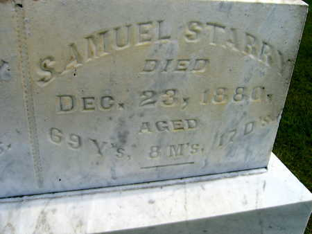STARRY, SAMUEL - Linn County, Iowa | SAMUEL STARRY