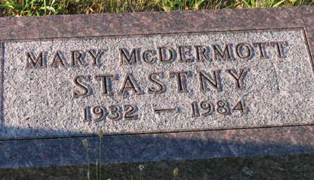 MCDERMOTT STASTNEY, MARY - Linn County, Iowa | MARY MCDERMOTT STASTNEY