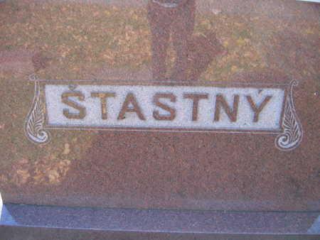 STASTNY, FAMILY STONE - Linn County, Iowa | FAMILY STONE STASTNY