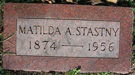 STASTNY, MATILDA A. - Linn County, Iowa | MATILDA A. STASTNY