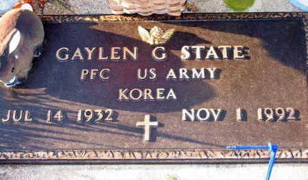 STATE, GAYLEN G. - Linn County, Iowa | GAYLEN G. STATE