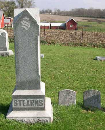 STEARNS, FAMILY STONE - Linn County, Iowa   FAMILY STONE STEARNS