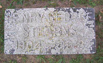STEARNS, HENRY GEORGE - Linn County, Iowa | HENRY GEORGE STEARNS