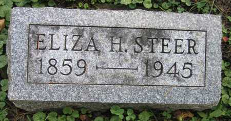 STEER, ELIZA H. - Linn County, Iowa | ELIZA H. STEER