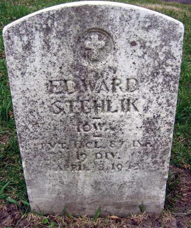 STEHLIK, EDWARD - Linn County, Iowa | EDWARD STEHLIK