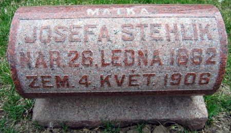 STEHLIK, JOSEFA - Linn County, Iowa | JOSEFA STEHLIK