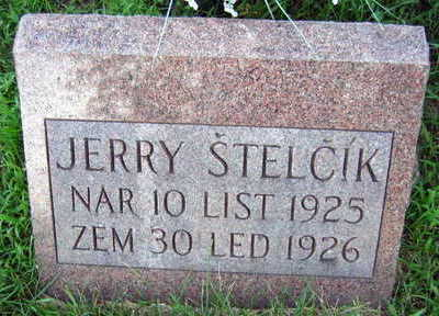STELCIK, JERRY - Linn County, Iowa | JERRY STELCIK
