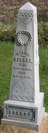 STENTZ, DANIEL - Linn County, Iowa   DANIEL STENTZ