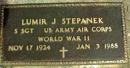 STEPANEK, LUMIR J. - Linn County, Iowa | LUMIR J. STEPANEK