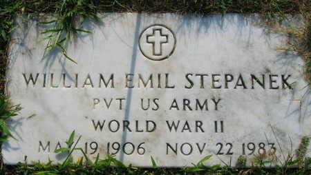 STEPANEK, WILLIAM EMIL - Linn County, Iowa   WILLIAM EMIL STEPANEK