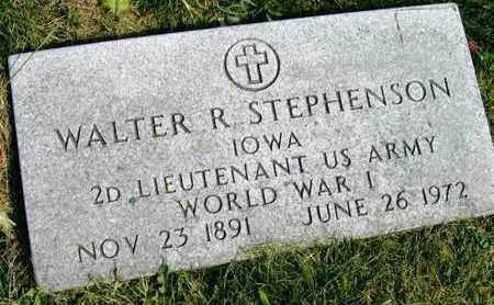 STEPHENSON, WALTER R. - Linn County, Iowa   WALTER R. STEPHENSON