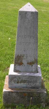 STERN, GEORGE - Linn County, Iowa | GEORGE STERN