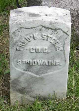 STERNS, FRED - Linn County, Iowa | FRED STERNS