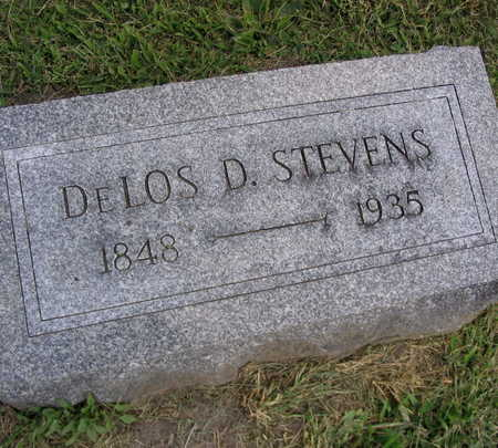 STEVENS, DELOS D. - Linn County, Iowa   DELOS D. STEVENS