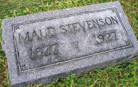 STEVENSON, MAUD - Linn County, Iowa   MAUD STEVENSON