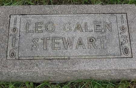 STEWART, LEO GALEN - Linn County, Iowa | LEO GALEN STEWART