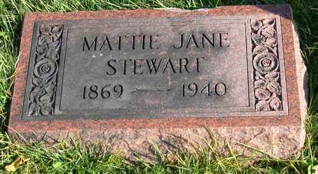 STEWART, MATTIE JANE - Linn County, Iowa | MATTIE JANE STEWART