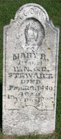 STEWART, MARY R. - Linn County, Iowa   MARY R. STEWART