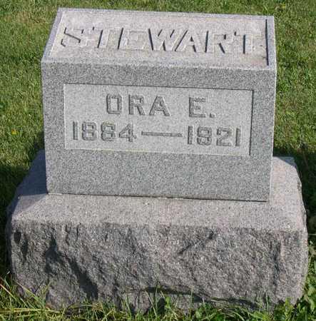 STEWART, ORA E. - Linn County, Iowa | ORA E. STEWART