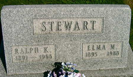 STEWART, ELMA M. - Linn County, Iowa | ELMA M. STEWART