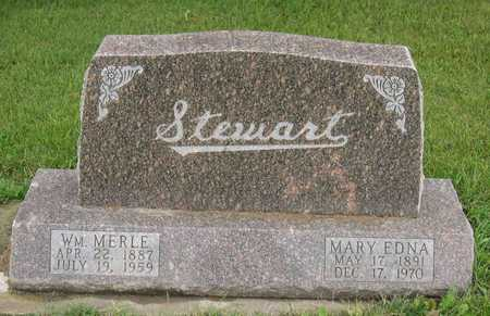 STEWART, MARY EDNA - Linn County, Iowa | MARY EDNA STEWART