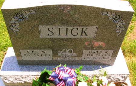 STICK, JAMES W. - Linn County, Iowa | JAMES W. STICK