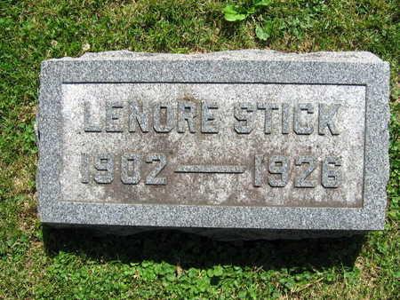 STICK, LENORE - Linn County, Iowa   LENORE STICK