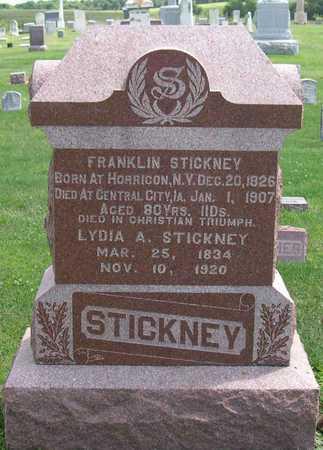 STICKNEY, FRANKLIN - Linn County, Iowa   FRANKLIN STICKNEY
