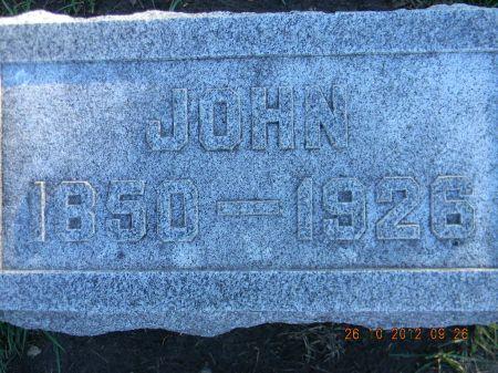 STINE, JOHN - Linn County, Iowa | JOHN STINE