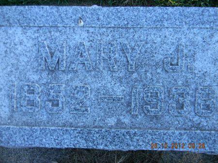 STINE, MARY J. - Linn County, Iowa   MARY J. STINE