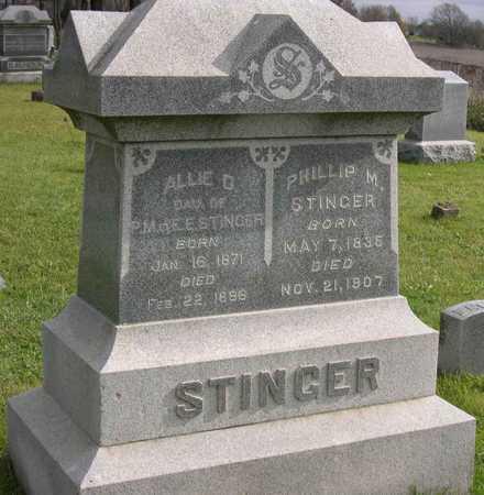 STINGER, PHILLIP M. - Linn County, Iowa | PHILLIP M. STINGER