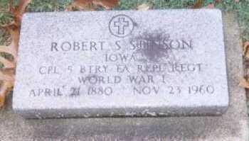 STINSON, ROBERT - Linn County, Iowa | ROBERT STINSON