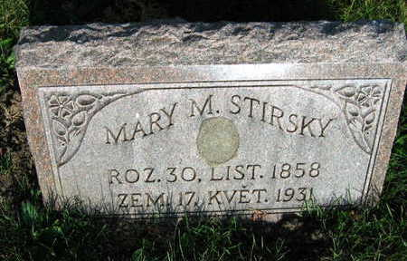 STIRSKY, MARY A. - Linn County, Iowa   MARY A. STIRSKY