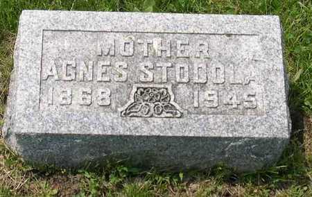 STODOLA, AGNES - Linn County, Iowa | AGNES STODOLA