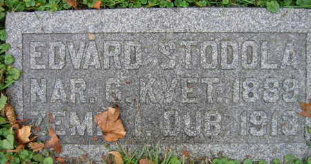 STODOLA, EDWARD - Linn County, Iowa | EDWARD STODOLA