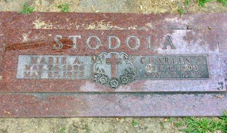 STODOLA, CHARLES J. - Linn County, Iowa | CHARLES J. STODOLA