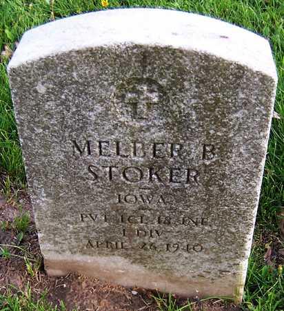 STOKER, MELBER B. - Linn County, Iowa | MELBER B. STOKER
