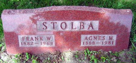 STOLBA, FRANK W. - Linn County, Iowa | FRANK W. STOLBA