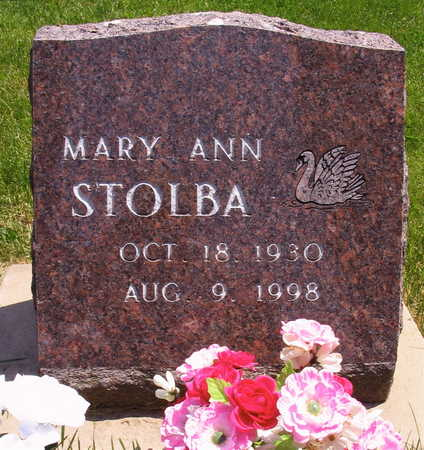 STOLBA, MARY ANN - Linn County, Iowa | MARY ANN STOLBA
