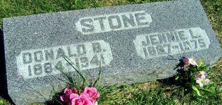 STONE, DONALD B. - Linn County, Iowa   DONALD B. STONE