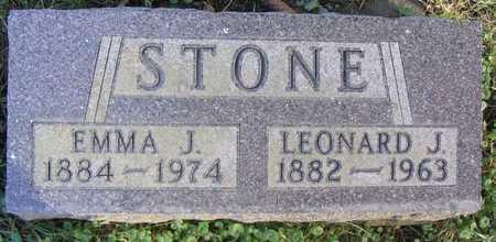 STONE, LEONARD J. - Linn County, Iowa | LEONARD J. STONE