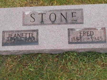 STONE, FRED - Linn County, Iowa | FRED STONE