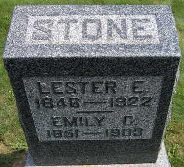 STONE, LESTER E. - Linn County, Iowa   LESTER E. STONE